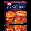 Der Pizzaburger von Dr. Oetker im Karton.