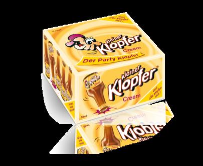 Grosse Packung von Kleiner Klopfer Cream - 24 Stk.